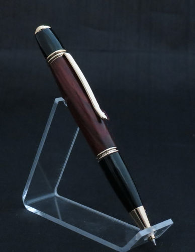 Black and Gold Wood Pen