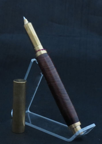 Solid Brass and Wood Pen